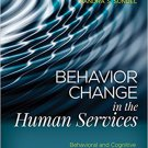 Ebook 978-1483384610 Behavior Change in the Human Services: Behavioral and Cognitive Principles a