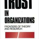 Ebook 978-0803957404 Trust in Organizations: Frontiers of Theory and Research