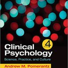 Ebook 978-1506333748 Clinical Psychology: Science, Practice, and Culture