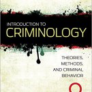 Ebook 978-1483389172 Introduction to Criminology: Theories, Methods, and Criminal Behavior