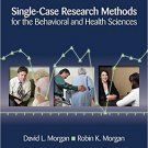 Ebook 978-1412950398 Single-Case Research Methods for the Behavioral and Health Sciences