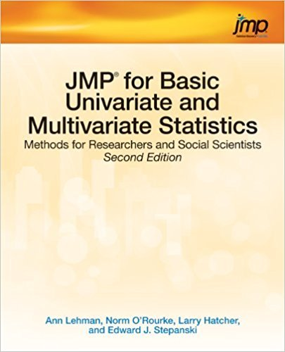 Ebook 978-1612906034 JMP for Basic Univariate and Multivariate Statistics: Methods for Researcher