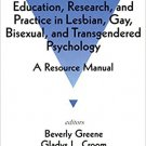 Ebook 978-0803953833 Education, Research, and Practice in Lesbian, Gay, Bisexual, and Transgender