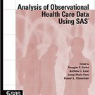 Ebook 978-1607642275 Analysis of Observational Health Care Data Using SAS
