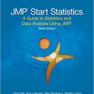 Ebook 978-1629608754 JMP Start Statistics: A Guide to Statistics and Data Analysis Using JMP, Six