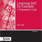 Ebook 978-1599941653 Learning SAS by Example: A Programmer's Guide