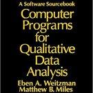 Ebook 978-0803955370 Computer Programs for Qualitative Data Analysis: A Software Sourcebook