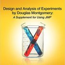 Ebook 978-1612907253 Design and Analysis of Experiments by Douglas Montgomery: A Supplement for U