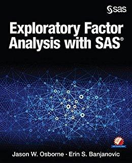 Ebook 978-1629600642 Exploratory Factor Analysis with SAS