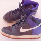 Nike dunk 517562-062 multi-color high top basketball shoes size 11.5 M