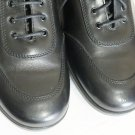 Polo Ralph Lauren  57206 mens oxford size  10.5D black leather MADE IN ITALY