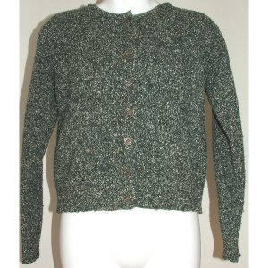 LIMITED Green Tone Cardigan S