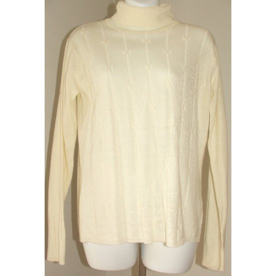 WORTHINGTON White Sweater Small