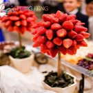 100pcs Strawberry Seeds Indoor Plants Tree Rare Seed Fruit Seeds Home Garden Diy For Bonsai Gift