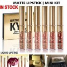 Gold Kylie Jenner lipgloss Cosmetics Lipstick Kit Birthday Limited Edition