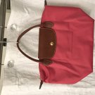 Pink LONGCHAMP Small Le Pliage Tote