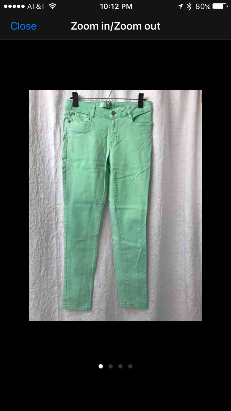 NWOT JOE FRESH Slim Fit Cotton Pants - Sz 2