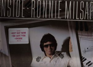 33 LP RECORD SEALED NOS RONNIE MILSAP INSIDE