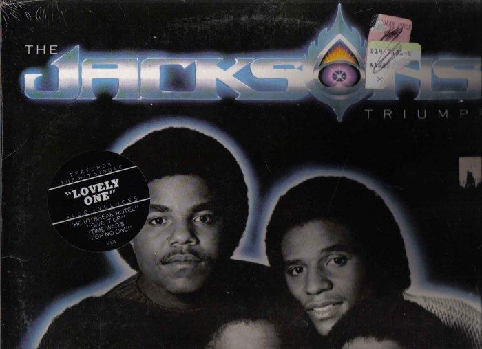 SEALED 33 LP VINYL RECORD THE JACKSONS TRIUMPH