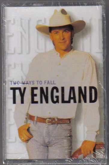 TY ENGLAND TWO WAYS TO FALL NEW OLD STOCK CASSETTE TAPE
