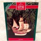 "Hallmark Keepsake Ornament American Commemorative ""Santa Maria"" 1992 NIB MIB"