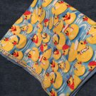 Captain duckie baby receiving blanket lap blanket beach blanket oversized double