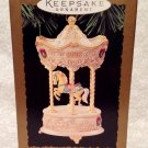 Hallmark Keepsake Ornament 1995 Tobin Fraley Holiday Carousel