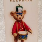 Hallmark Keepsake North Pole Band Teddy Ornament 2006 New Store Stock
