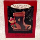 "Hallmark ""Takin' A Hike"" Ornament Dated 1995"