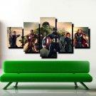 Iron Man The Avengers Hulk US Movie Poster Multi Canvas Wall Art Kids Room Decor