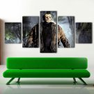 Classic Horror Movie Posters Giclee 5 Piece Canvas Wall Art Painting Print Decal