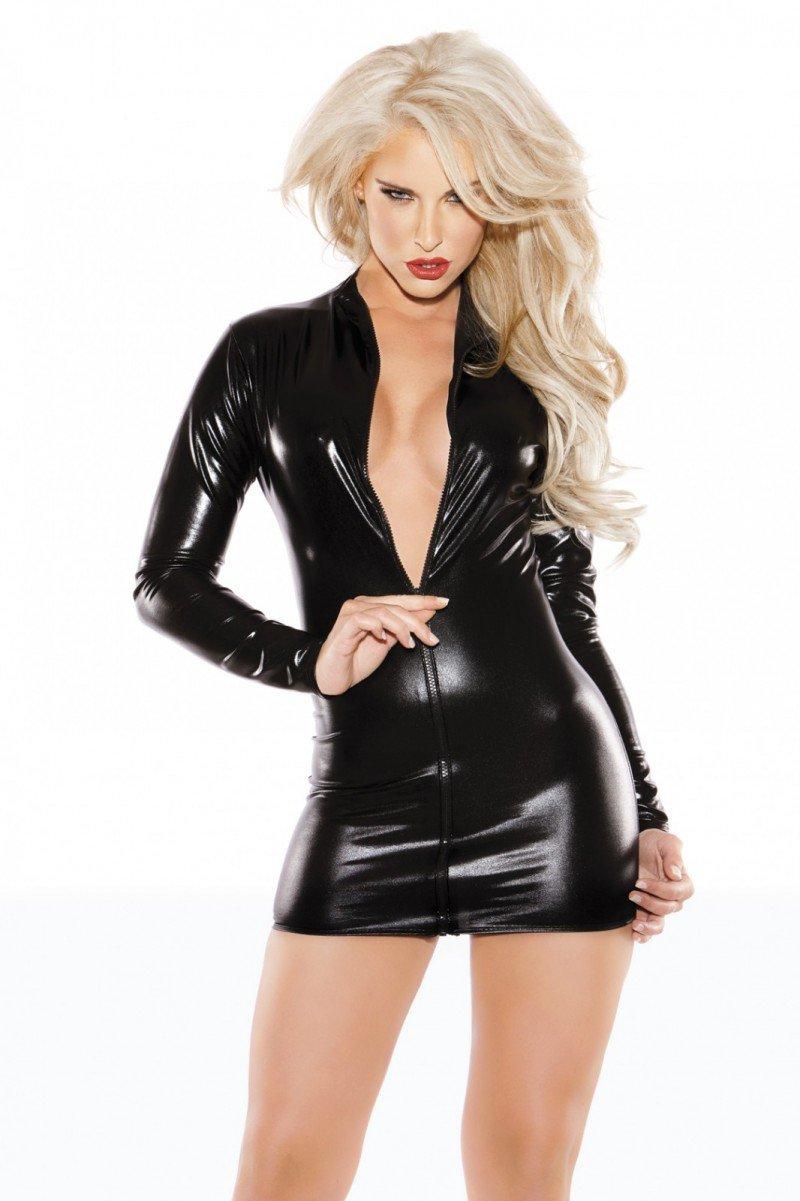Kitten Sexy Siren Dress Black From Kitten 17-1302K