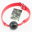 Oscuro APXG140R/B Biothane / Silcone Ball Gag Red / Black