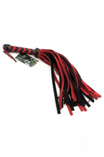 Oscuro APXA130 Suede Mini Flogger with Leather Handle