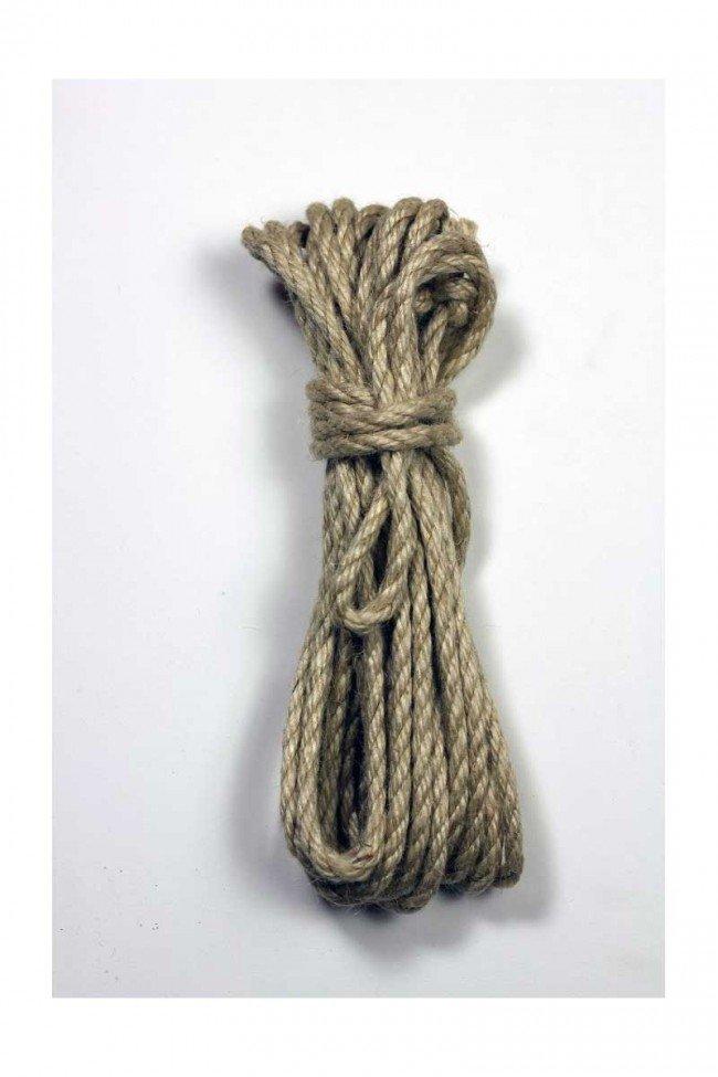 Asanawa Jute Shibari Rope 7mm x 8m