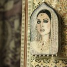 BENANDLU - Brooch pendant portrait. east is a delicate matter. Handmade jewelry embroidery