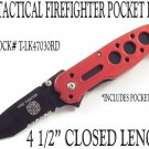 Firefighter's Tactical Knife EMS EMT