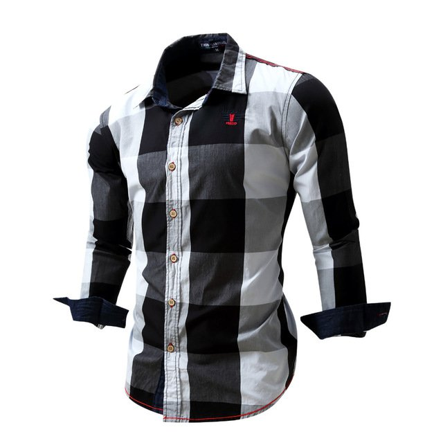 2016 New Arrival Men's shirt  Long Sleeve Shirt Mens Dress Shirts Brand Cas