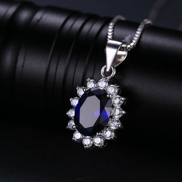 JewelryPalace British Kate Princess Diana William Engagement Wedding Blue S