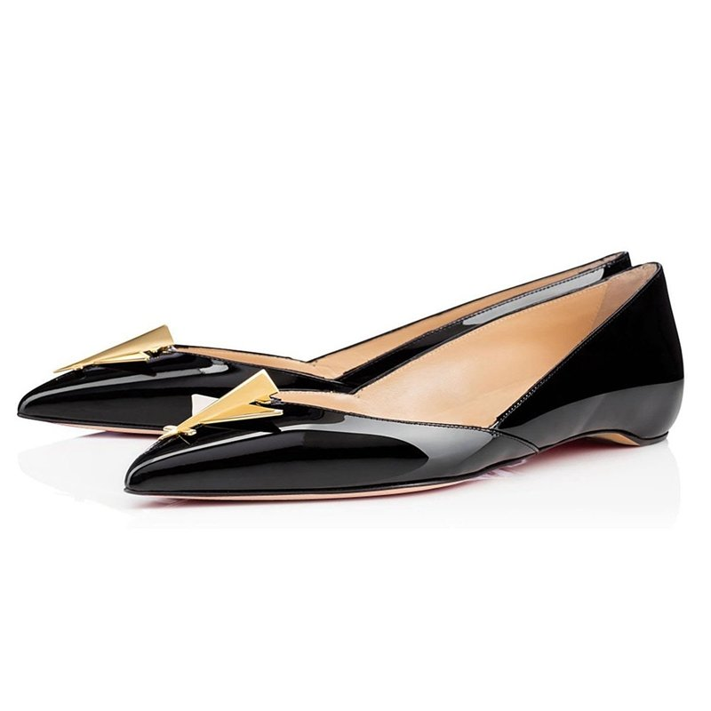 Brand New Patent Leather Girl Flat Shoes Hot