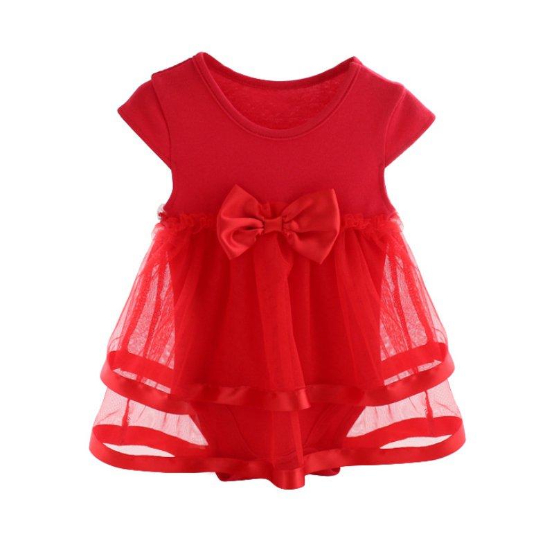 Newborn Baby Summer Mesh Bow Baby For Girl Kids
