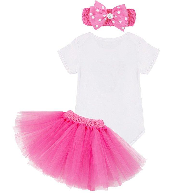 1 Year Birthday Dress for 1st First Baby Kid Girl Birthday