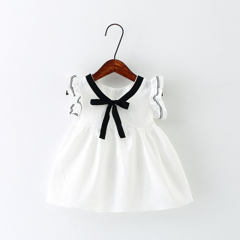 Lolita Style Baby Summer Dress for Girl Ruffle Pure