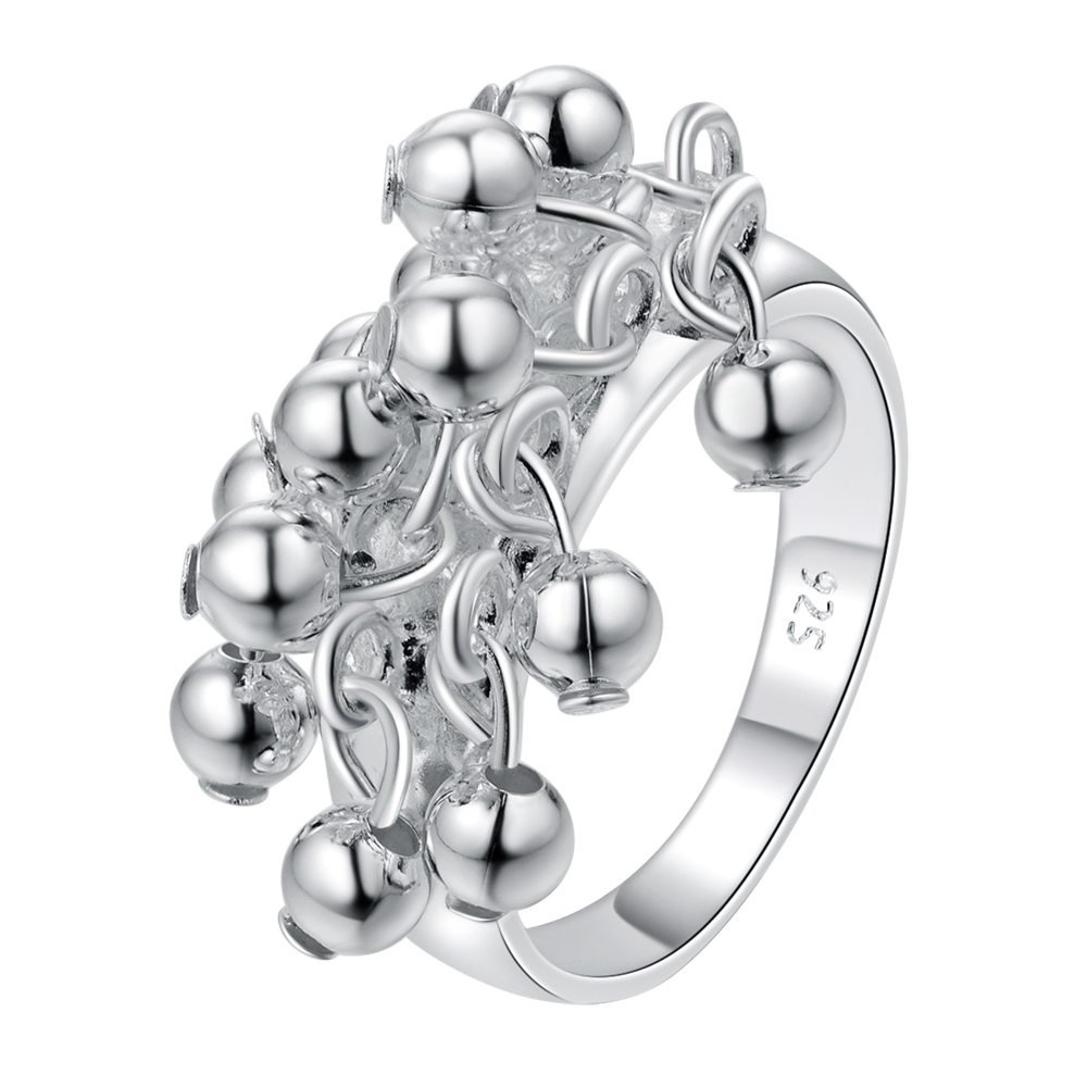 New Hot sale cute silver Plated rings for women