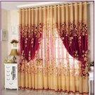 Luxury Window Living Room Tulle Window Curtains Kitchen