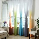 Tulle Curtains 3d Printed Kitchen Decorations Window