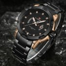 Mens Watches Top Luxury Brand NAVIFORCE Men Full Steel Watches Quartz