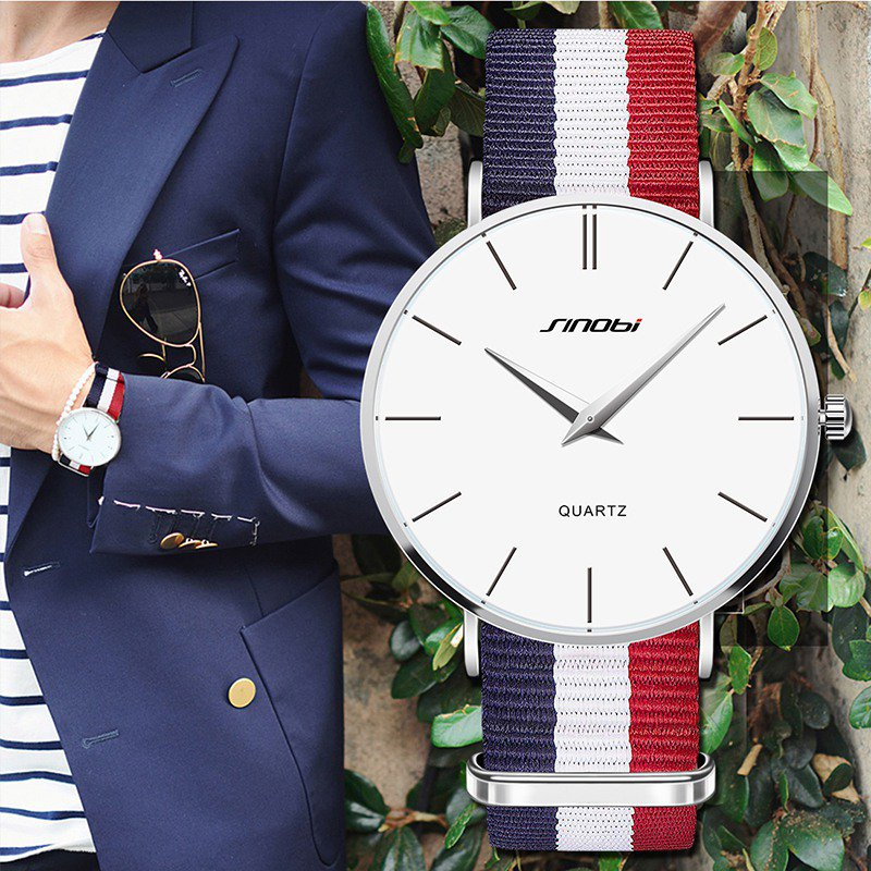 Ultra Slim Men Casual Quartz watch Top Brand Luxury Classic