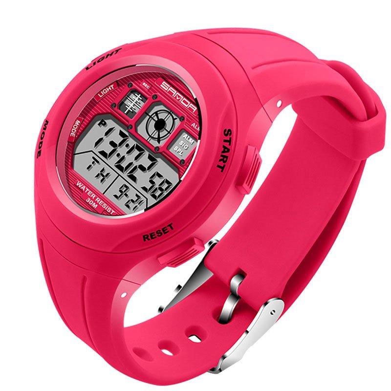 Top LED Digital Children Watch Kids Watches Girls Boys Clock