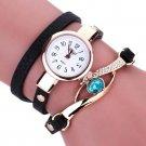 Fashion quartz watch  Bracelet Watches top brand leather strap lady girl wr